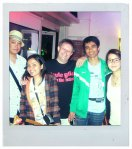 with Yangki, berliner, Rudy