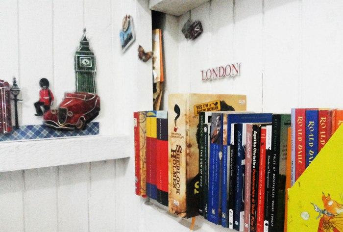 Rak Bukuku & Satra dari Inggris